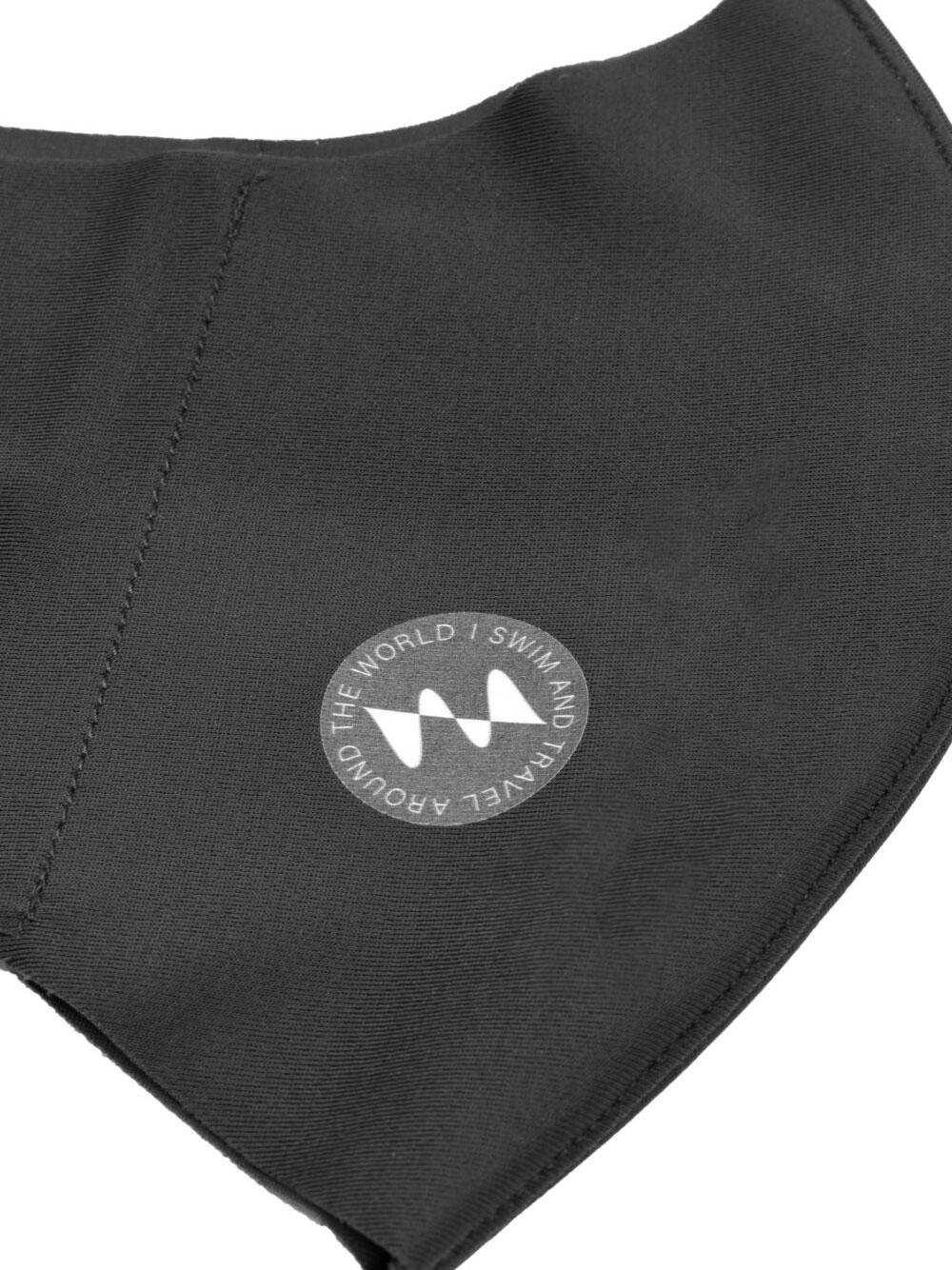I SWIM × MIZUNO  ブレスサーモマウスカバー(2枚セット)/ チャコールグレー