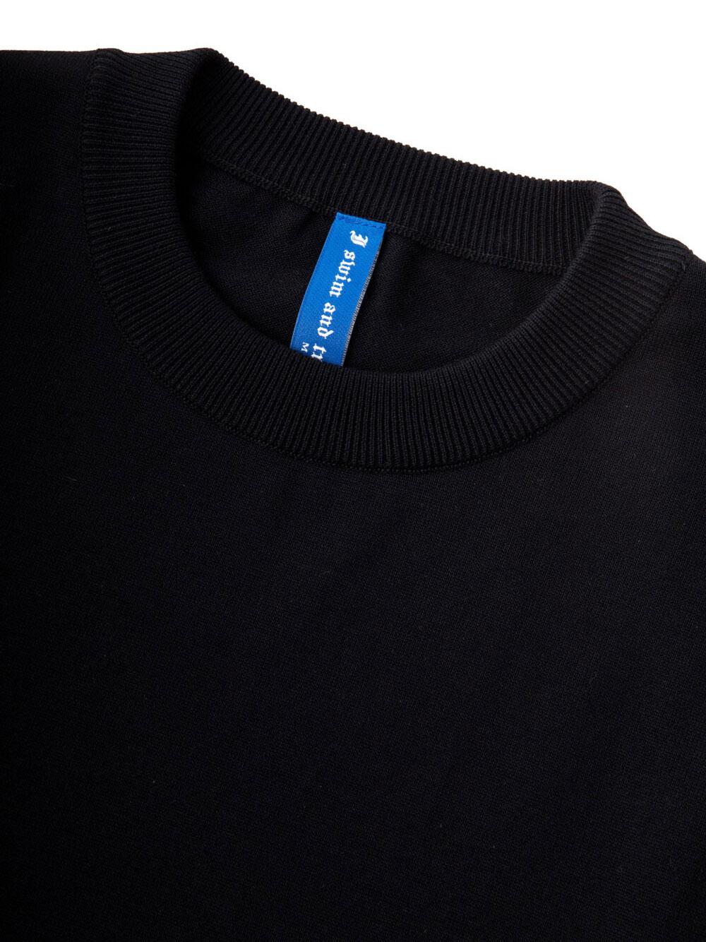 Water Repellent Premium Tee Shirt 002-Black