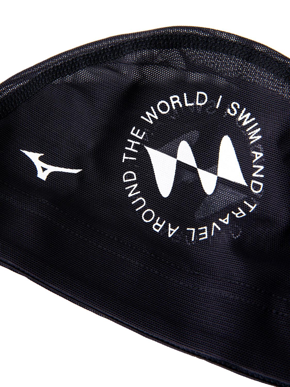 I SWIM x MIZUNO / Swim Cap Black