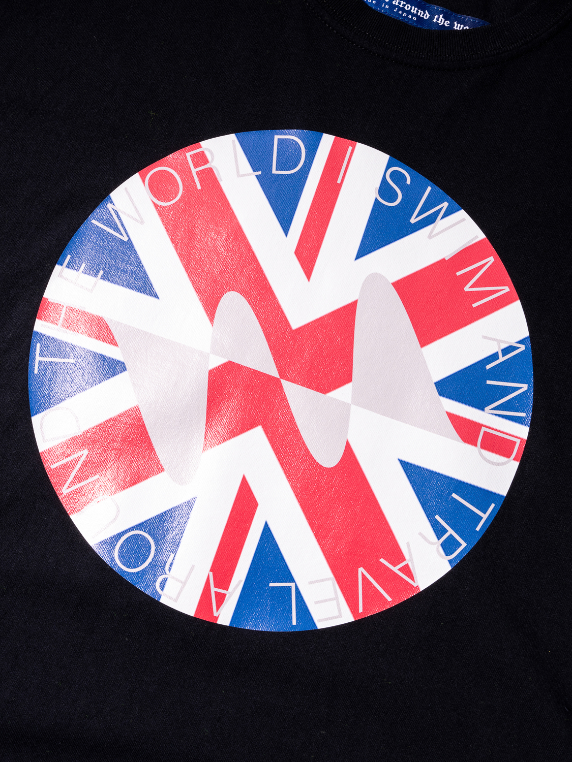 Water Repellent National flag Tee Shirt 001