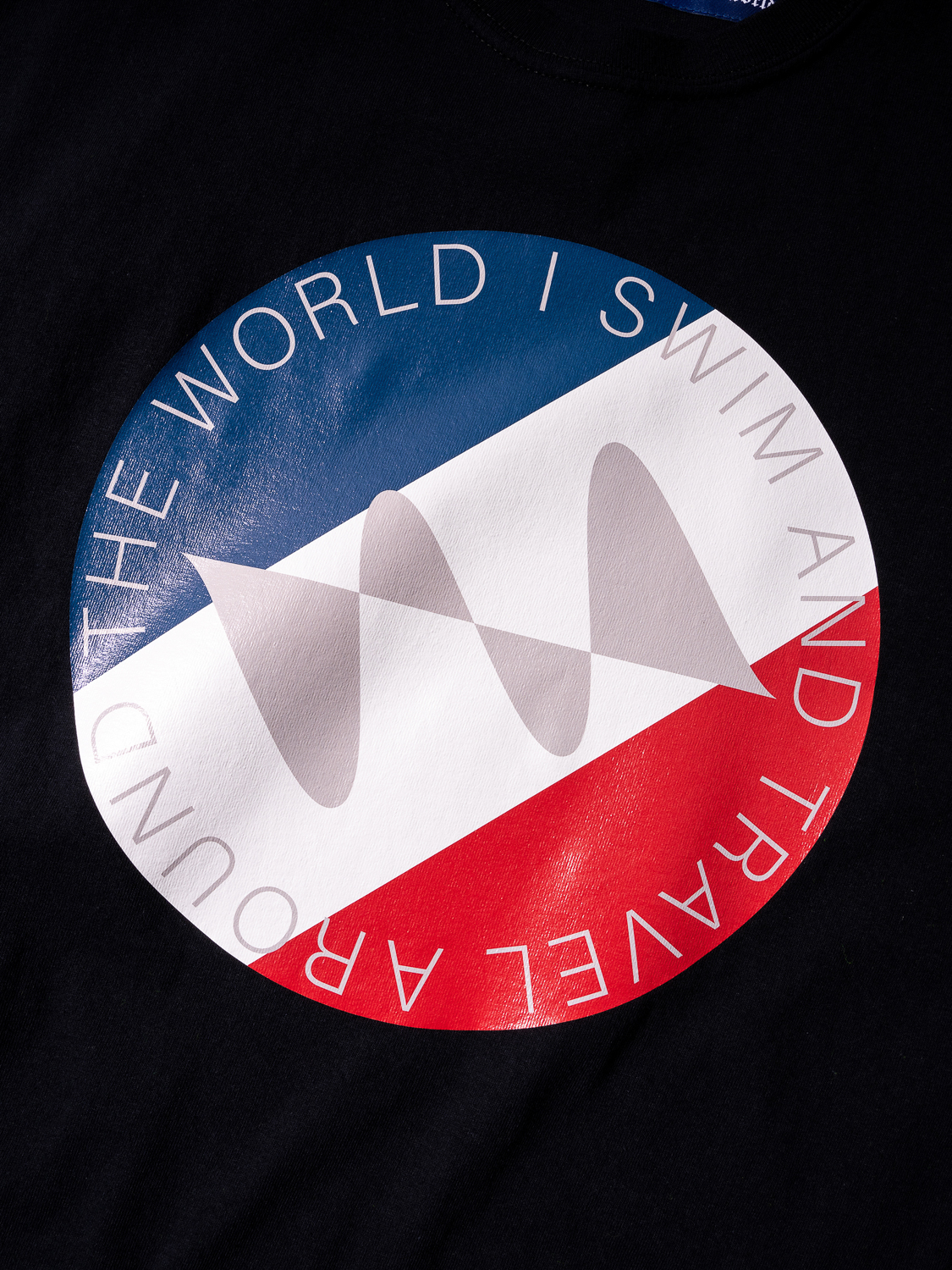 Water Repellent National flag Tee Shirt 003