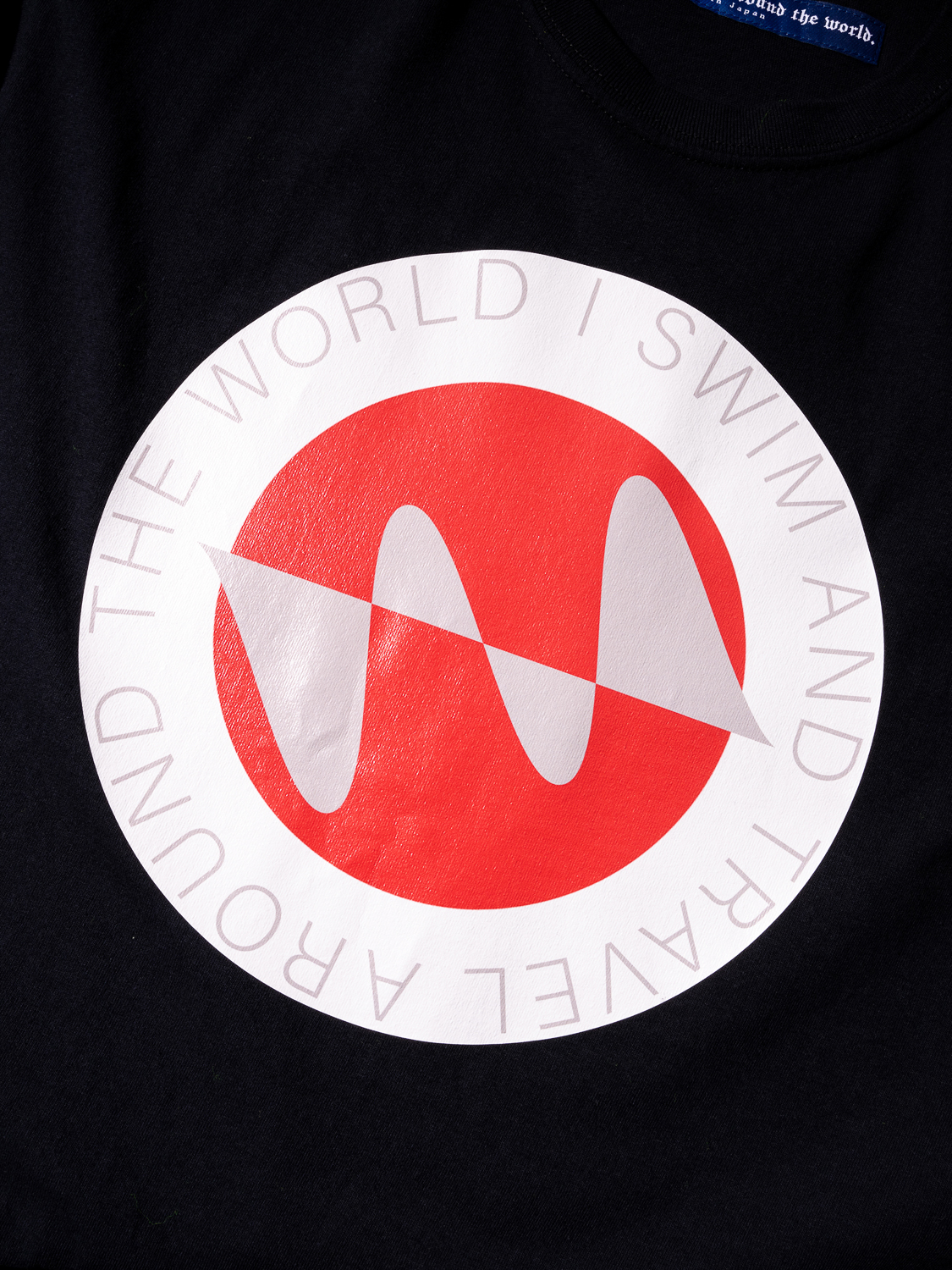 Water Repellent National flag Tee Shirt 004