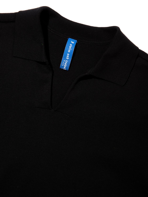 Water Repellent Premium Polo Shirt 002-Black