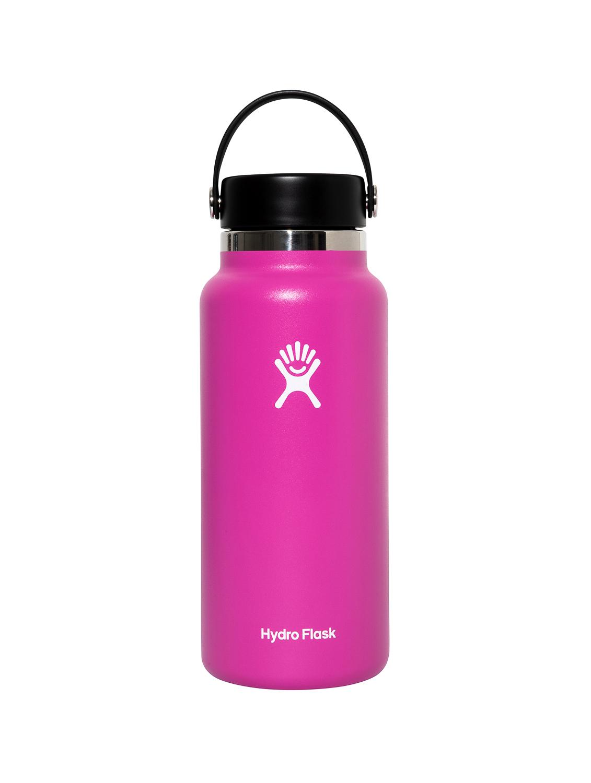 I SWIM × Hydro Flask Flex Cap-Carnation (32oz)